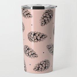 Pink cones Travel Mug