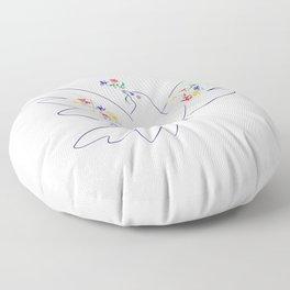 Picasso's Dove Floor Pillow