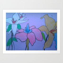 Berlin's Mother's Flowers Art Print