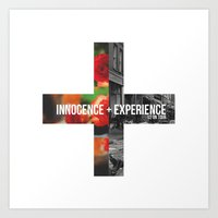 u2 Art Prints featuring Innocence + Experience (U2 on Tour) by Achtung (U2 Merch)