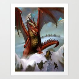 Guardian of the Pass Art Print