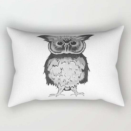 Small Owl Rectangular Pillow