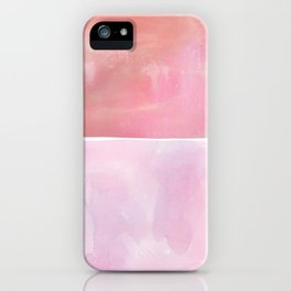 Hue in Pink iPhone Case