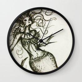Sassy Mermaid Wall Clock