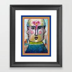 Three Faces of Beauty Framed Art Print