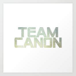 team canon Art Print