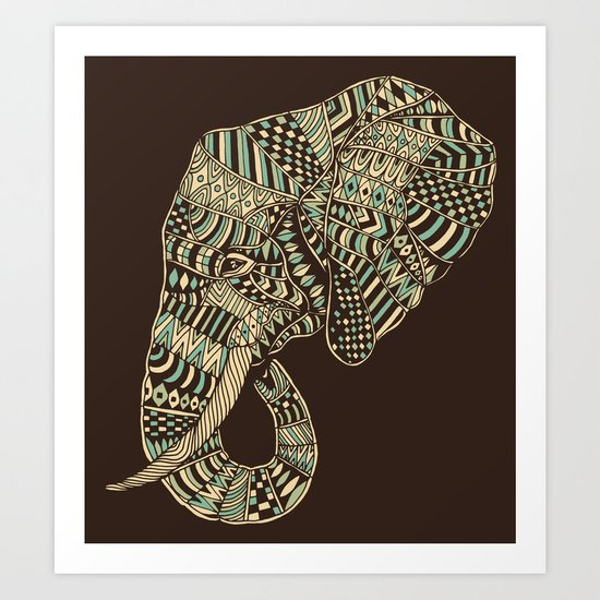 Elephant (Majestic) 2.0 Art Print