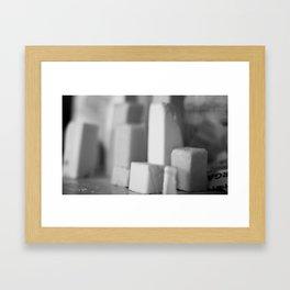 Elemental Baking - Butter Framed Art Print