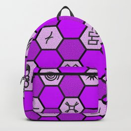 Mysterious Hexagons Backpack
