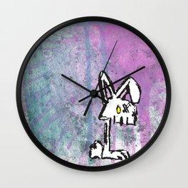 Bunny Zombie Wall Clock