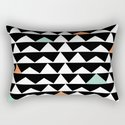 Tribal Triangles, Geometric Aztec Andes Pattern by itaya