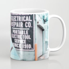 Umbrella Street Coffee Mug