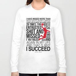 M.Jordan Chicago bull Motivation Long Sleeve T-shirt
