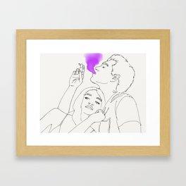 Claw marks Framed Art Print