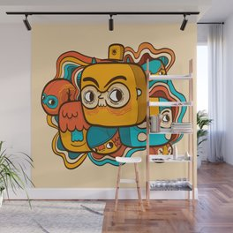 The Extraordinary League of Doodles Wall Mural