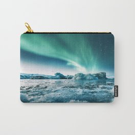 aurora borealis at jakursarlon Carry-All Pouch