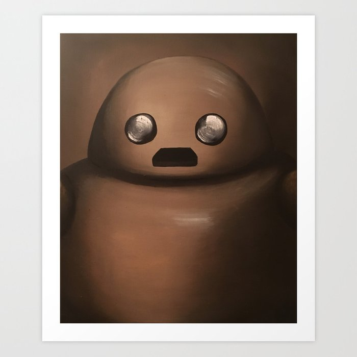 Herb the Portraitbot Art Print