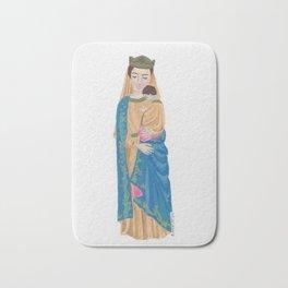 Madonna with child Bath Mat