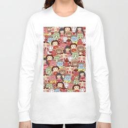 Japanese Yokai collection Long Sleeve T-shirt