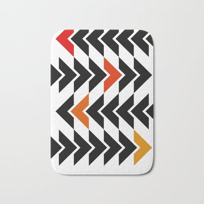 Arrows Graphic Art Design Bath Mat