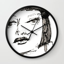 Portrait 113 Wall Clock