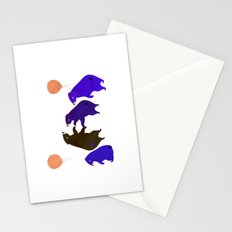A sleepy bear party Stationery Cards