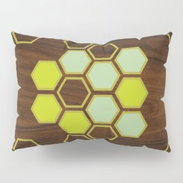 Hex in Green Pillow Sham