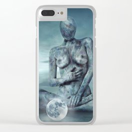 Mrs. Moon Clear iPhone Case