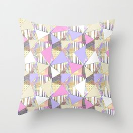 Cute abstract pattern. Throw Pillow