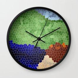 Gaudi´s garden Wall Clock