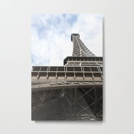 When in Paris, Eiffle Tower Metal Print