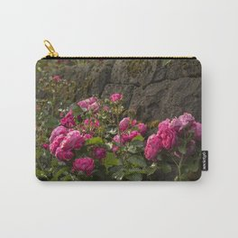 Rose on the Wall Carry-All Pouch