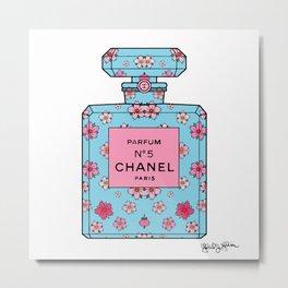 Parfum No5 Spring Cherry Blossom  Metal Print