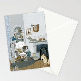 Baby Animal Nursery Stationery Cards