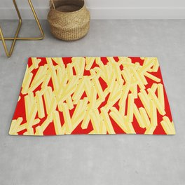 Fries With Ketchup Rug