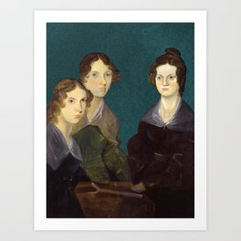 The Brontë Sisters, 1833 Art Print