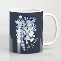 digimon Mugs featuring Digimon Memories by Cursed Rose