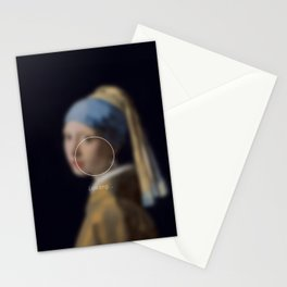 Girl with a Pearl Earring _loading. Stationery Cards
