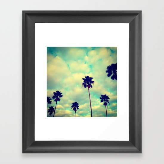 More Palms Framed Art Print