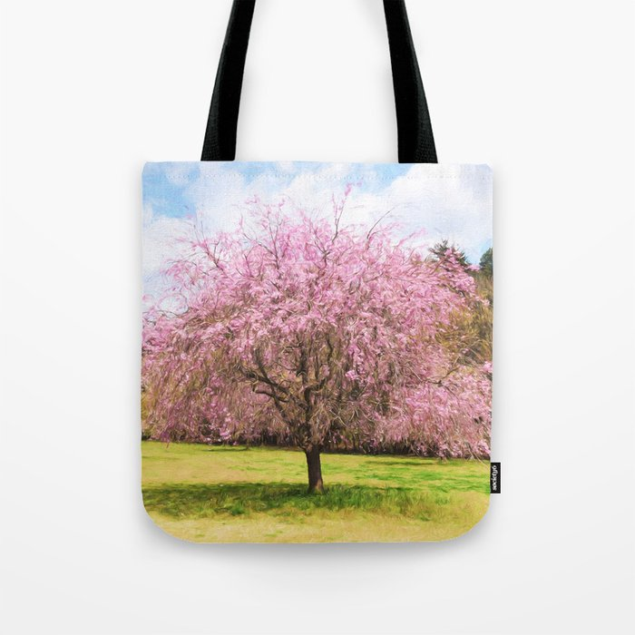 Beautiful cherry blossoms Tote Bag
