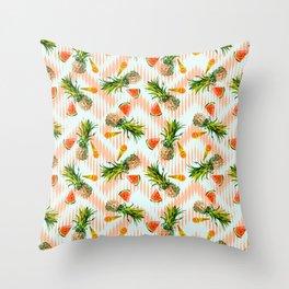 Summer pattern I Throw Pillow