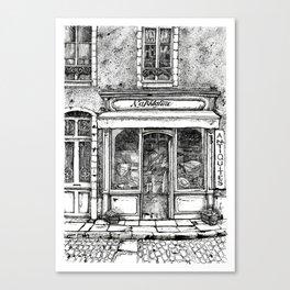 Naphtaline Canvas Print