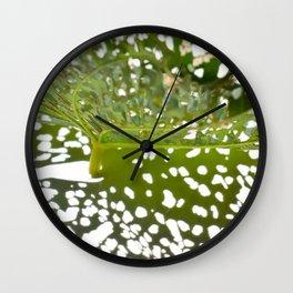 Leaf Light I Wall Clock
