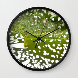 Leaf Light I Wall Clock