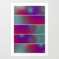 Innerspace (Five Panels Series) Art Print