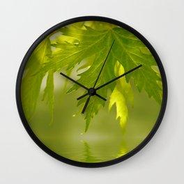 Foliage 178 Wall Clock