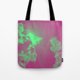 Radiant Clouds Tote Bag