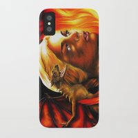 mother of dragons iPhone & iPod Cases featuring The Mother of Dragons by Brigitta
