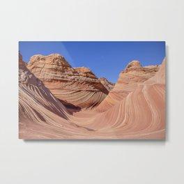 THE WAVE-Utah Metal Print