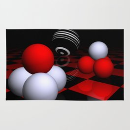 ball pyramids -2- Rug